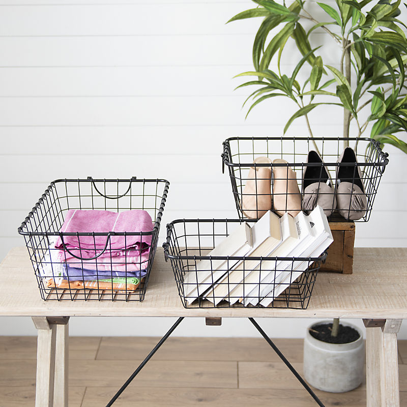 Baskets & Boxes Up to 25% Off