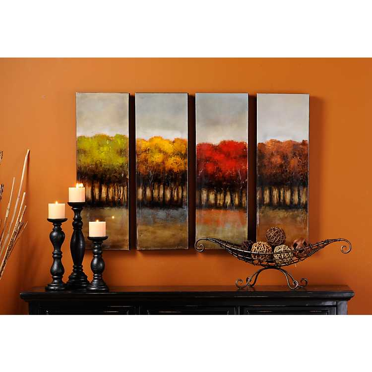 Four Seasons Canvas Print Set Of 4 Kirklands