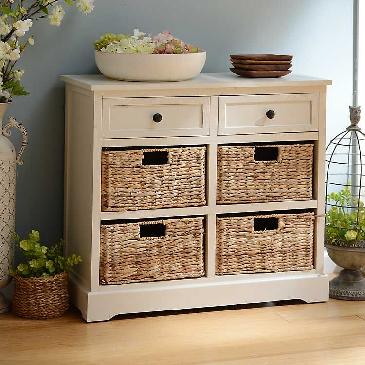 6 Drawer Storage Chest With Baskets