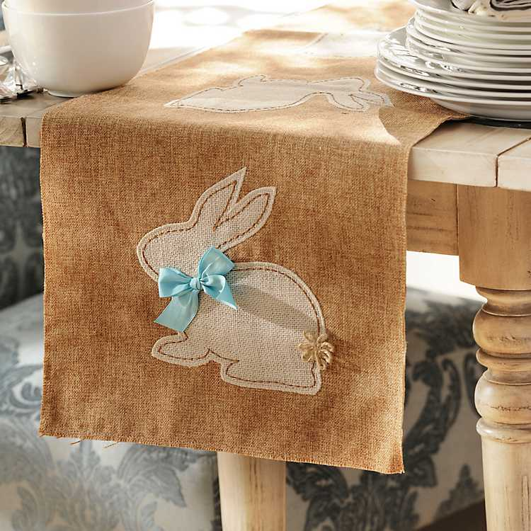 Easter Bunny Table Runner Kirklands