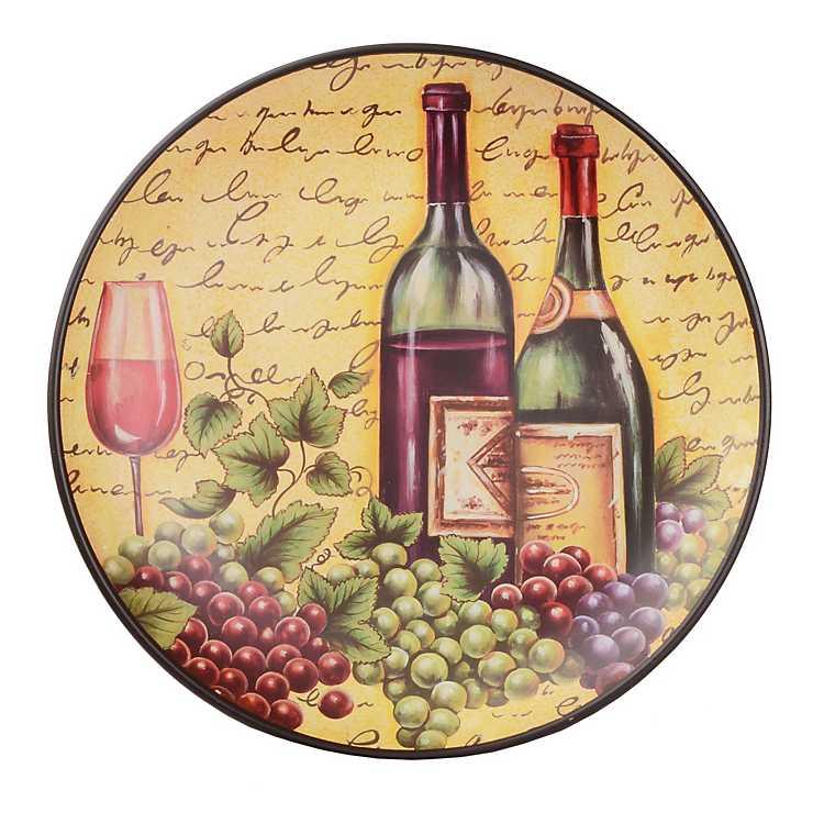 Time For Wine Decorative Plate Kirklands