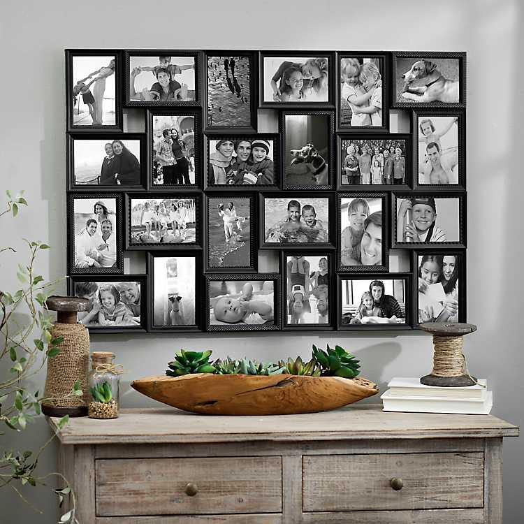Black 24 Opening Collage Frame Kirklands