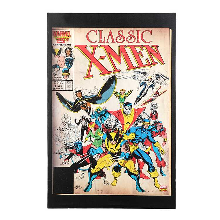 Wall Art Canvas Picture Print X-Men M001 3.1
