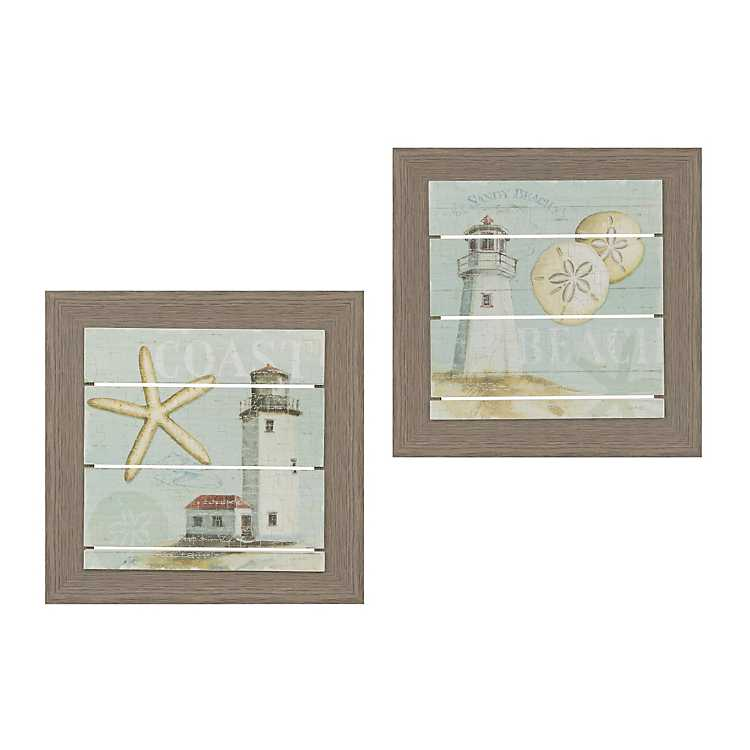 Beach House Framed Art Prints Set Of 2 Kirklands