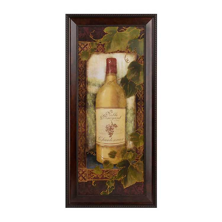 Noble Vineyard Chardonnay Framed Art Print Kirklands