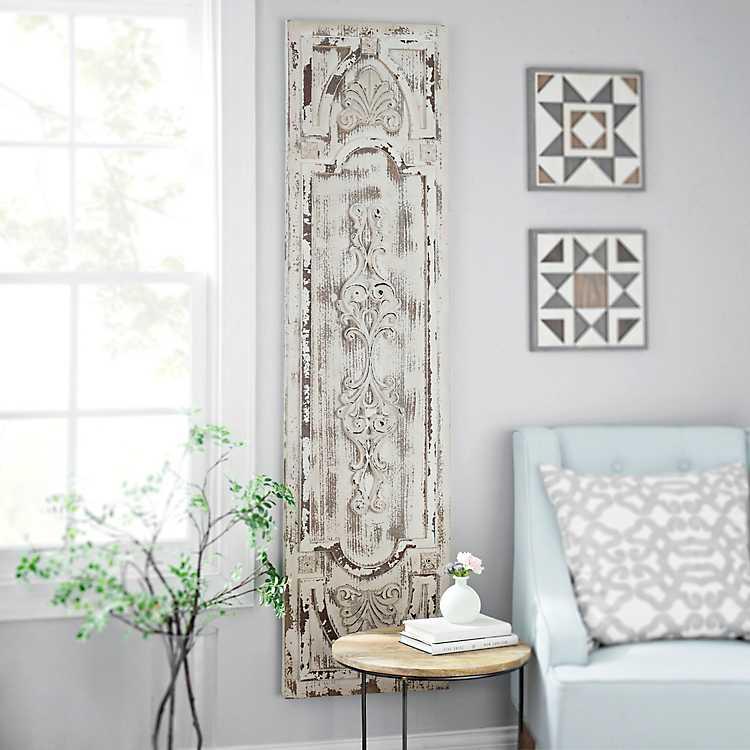 Distressed Vintage Door Wooden Panel