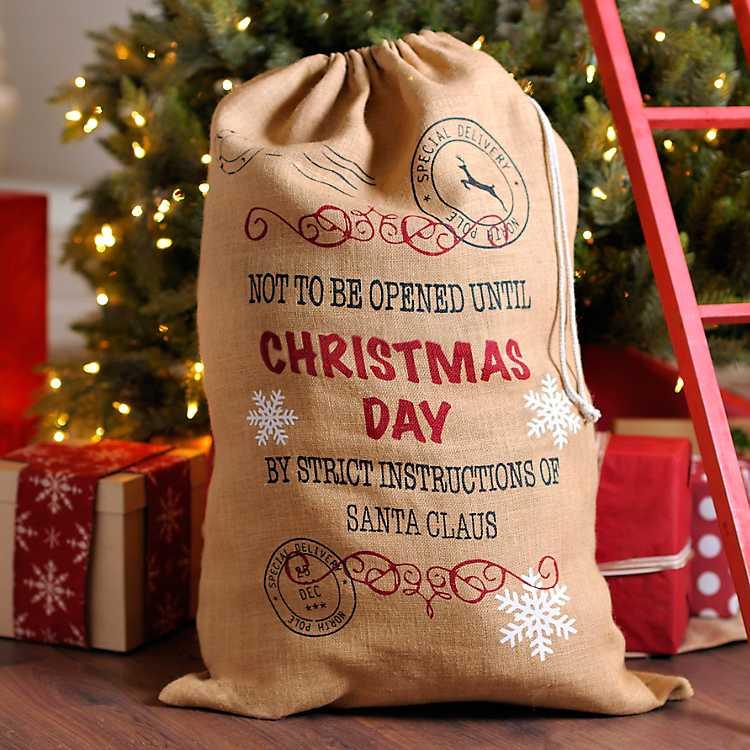 Santa Sacks Christmas Sacks