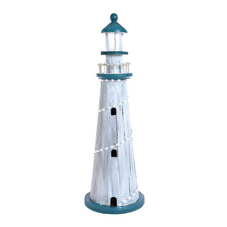 Decorative Lighthouses That Light Up  from images.kirklands.com