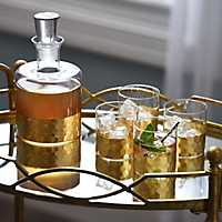 Daphne Gold 5-pc. Whiskey Set