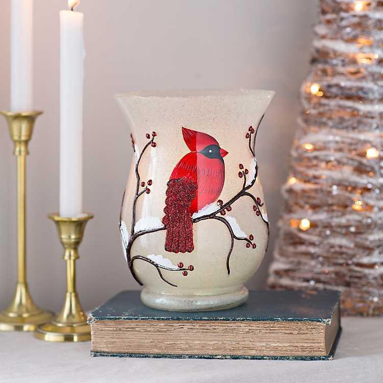 Christmas Cardinal Hurricane Kirklands