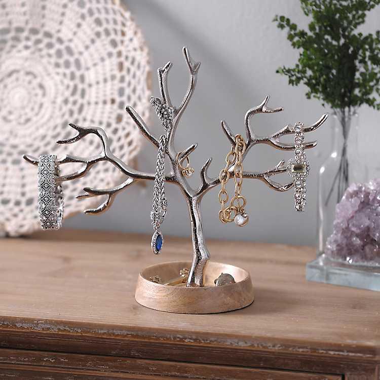 Drayton Gold Tree Jewelry Holder Kirklands