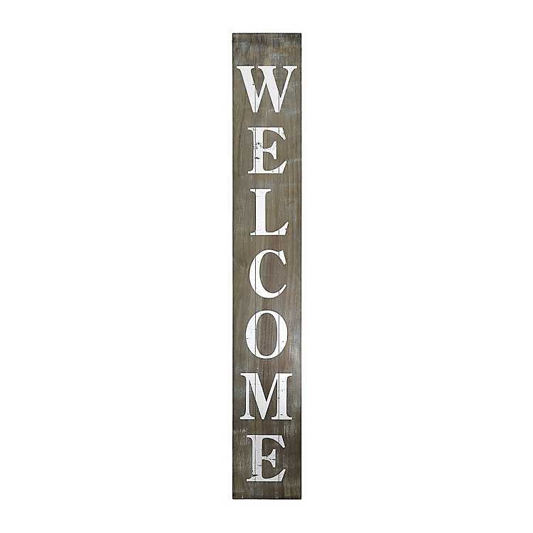 Welcome Porch Sign Kirklands