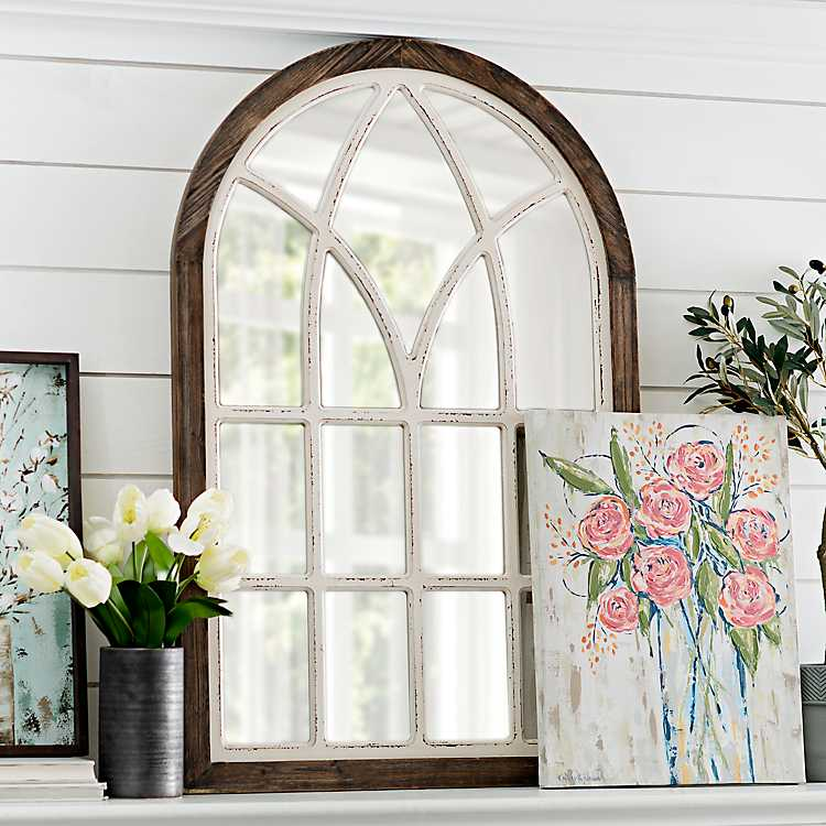 arched window frame wall art