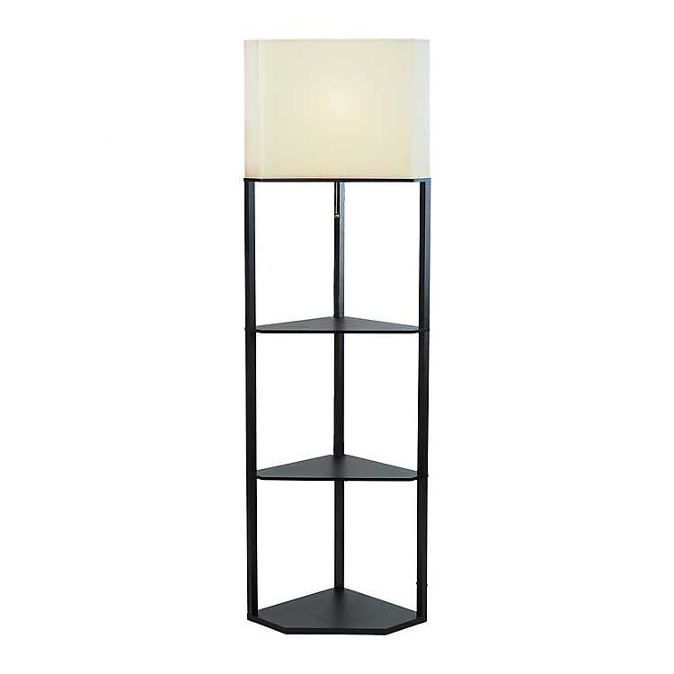 Modern Corner Shelf Floor Lamp Kirklands