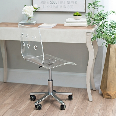 Clear Acrylic Office Chair Kirklands