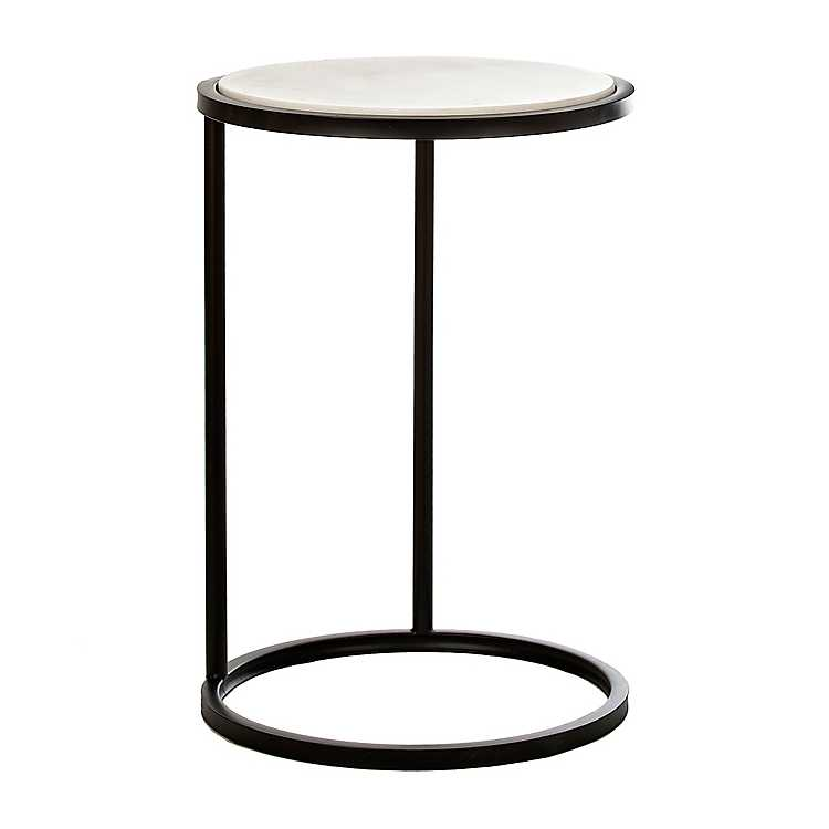 Round Marble C Table Kirklands, Round C Table