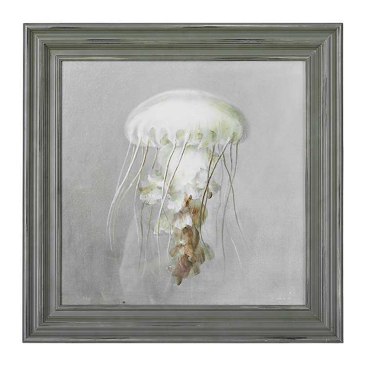 From The Sea Jellyfish Framed Art Print Kirklands