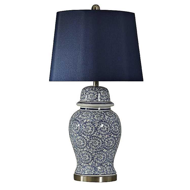 Chinese Blue Ginger Jar Table Lamp Kirklands,Baby Shower Flower Arrangements