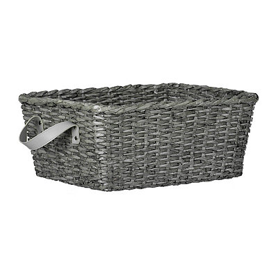 small oval willow basket for gift giving storage.htm woven gray basket kirklands  woven gray basket kirklands