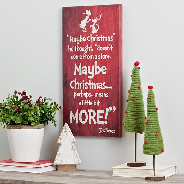 Dr Seuss Grinch Christmas Wall Plaque Kirklands