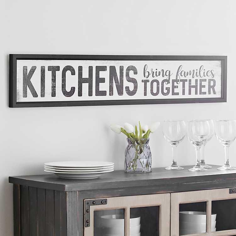 Kitchens Framed Art Print Kirklands