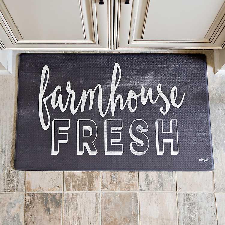 Cook N Comfort Farmhouse Fresh Kitchen Mat Kirklands