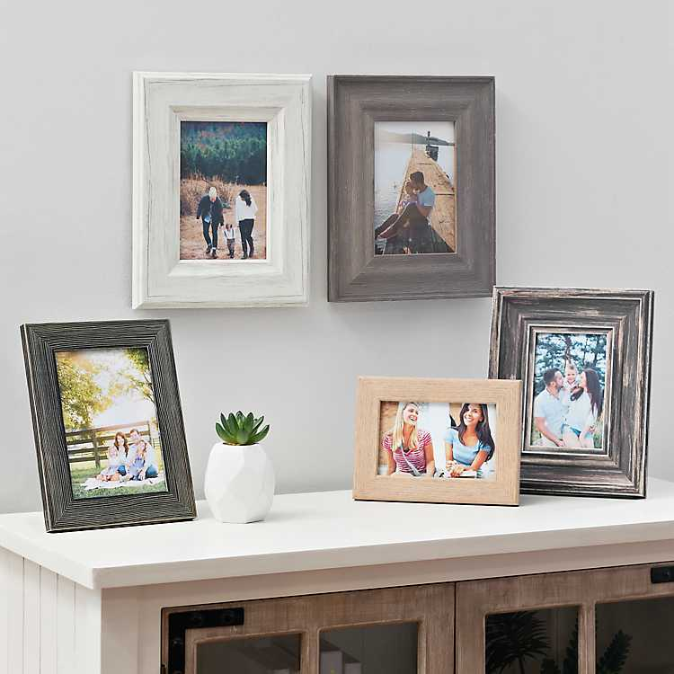 Assorted 5 Pc Gallery Wall Picture Frame Set Kirklands
