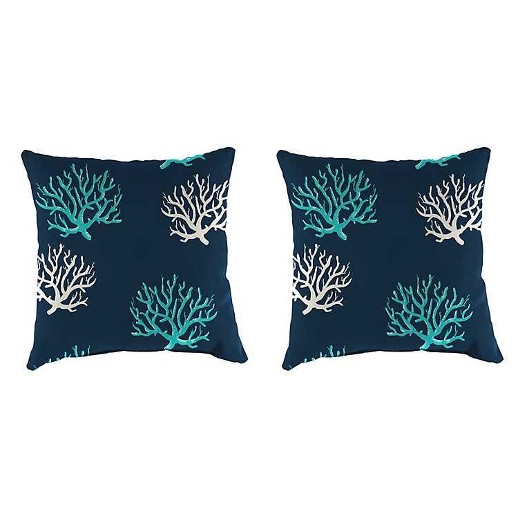 Isadella Oxford Outdoor Pillows Set Of 2 Kirklands