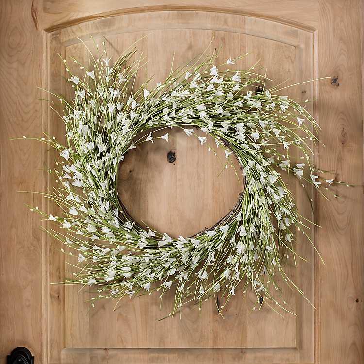White Berry Foam Wreath Kirklands
