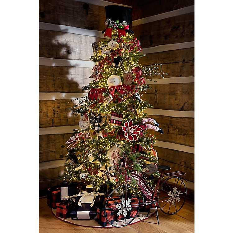 Kirklands Christmas 2020 7 ft. Light Cluster LED Christmas Tree | Kirklands