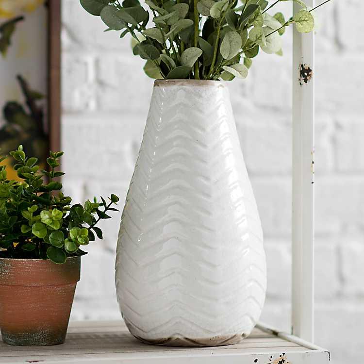 Porcelain Meissen White Vase