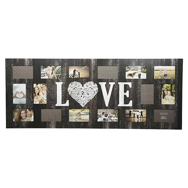 16 Opening Love Distressed Collage Frame Kirklands