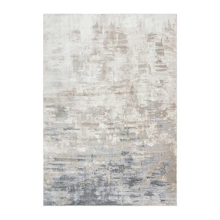 tan edward abstract area rug 8x10