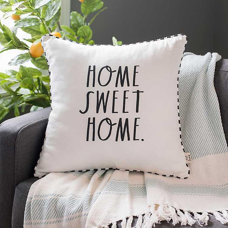Rae Dunn Home Sweet Home Pillow Kirklands