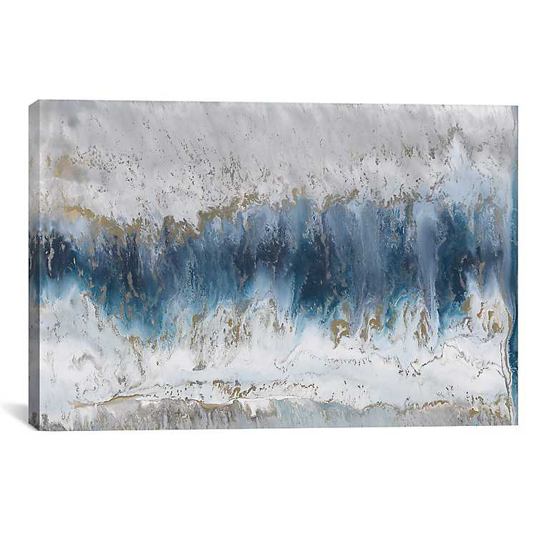 Blue Moonstone Canvas Art Print Kirklands