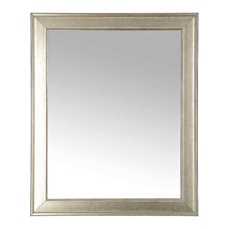 Silver Beveled Framed Wall Mirror 27 3x33 3 In Kirklands
