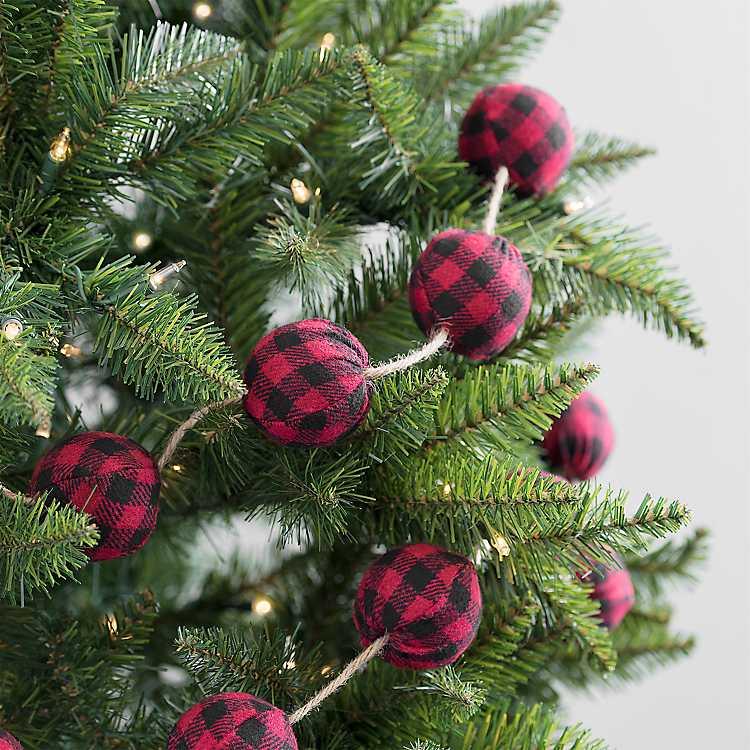Buffalo Check Sign Christmas Forest Wall Art Red Plaid Seasonal Gift Printable Farmhouse Decor Festive Decorations