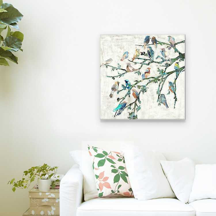 Wings Of Spring I Canvas Art Print Kirklands