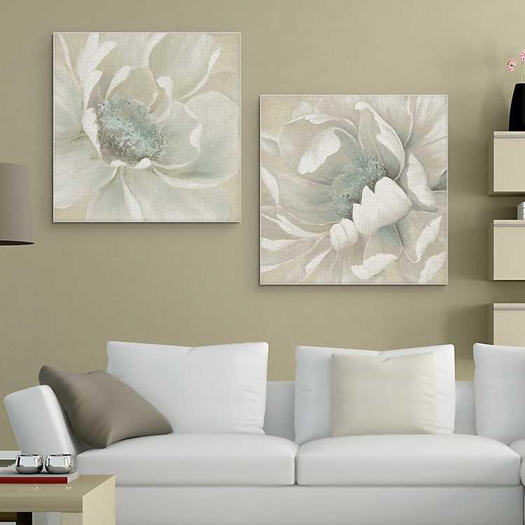 Unexpected Bloom No 2 Canvas Art Print