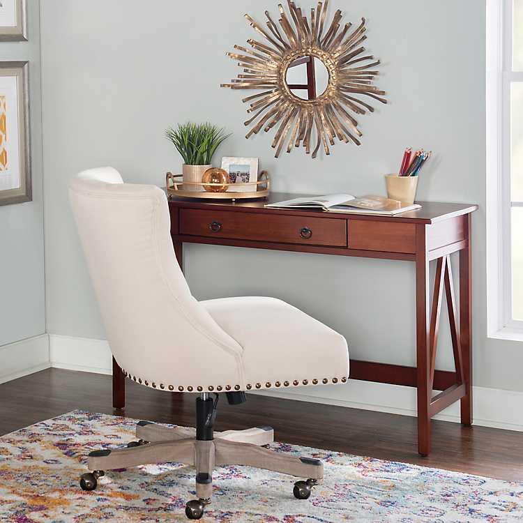 Charleston Antique Desk Kirklands, Sofa Table Desk Combo