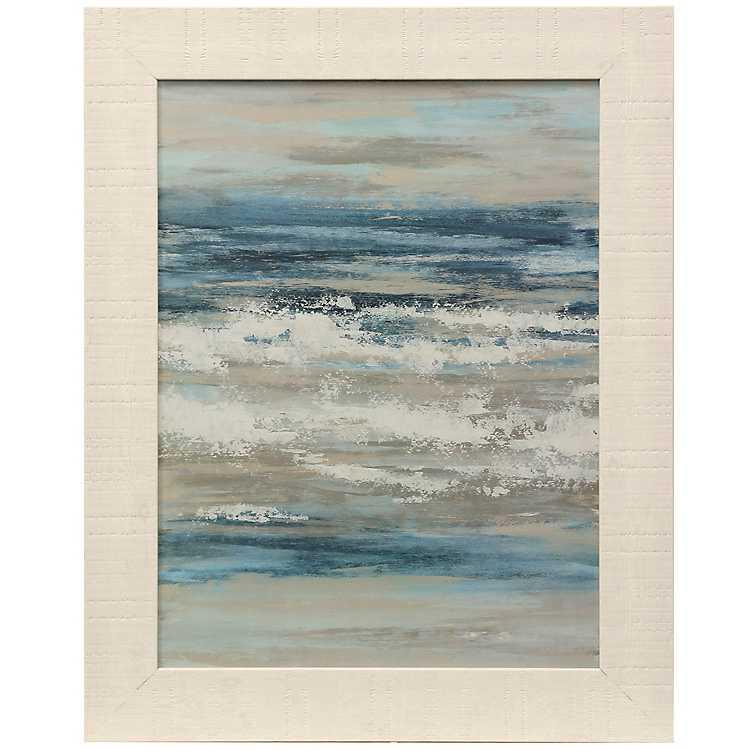 Waves Of The Sea Framed Art Print Kirklands