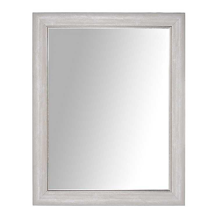 Silver Liner Wall Mirror 37x47 In Kirklands
