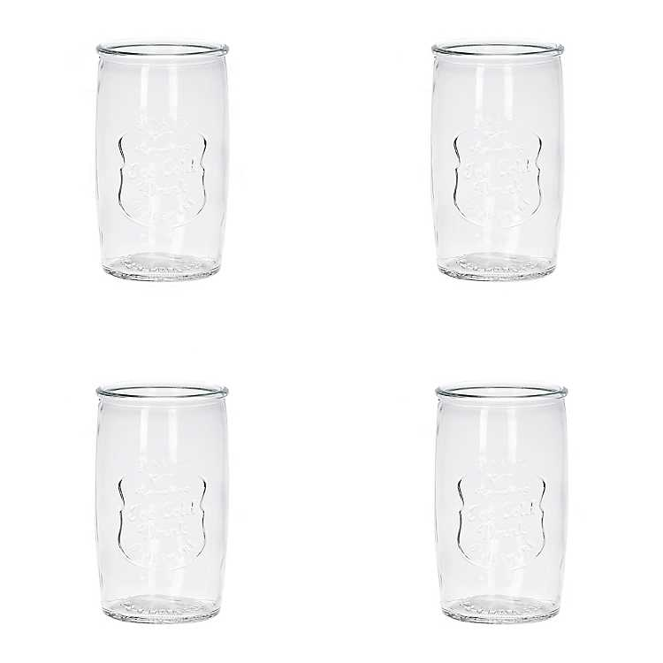 Clear Ice Cold Highball Tumblers Set Of 4 Kirklands