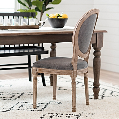 Warm Gray Louis Dining Chair Kirklands, King Louis Dining Room Chairs