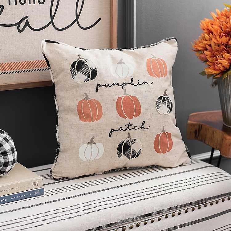 Mini Pumpkin Patch Pillow Kirklands