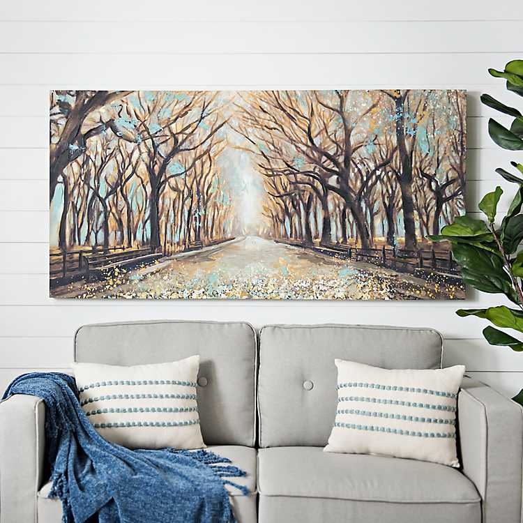 Neutral Momentary Quiet Canvas Art Print Kirklands