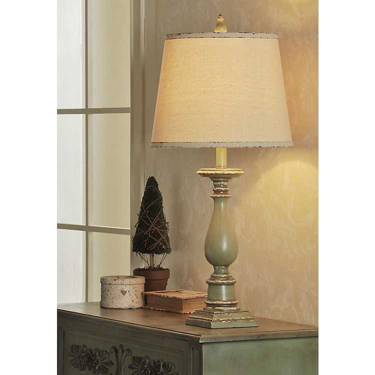Green French Country Table Lamp Kirklands