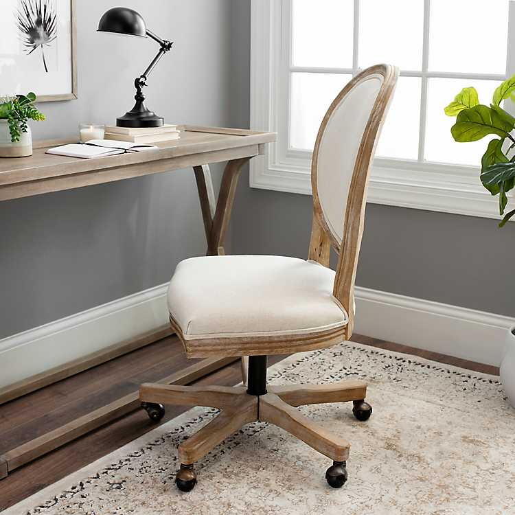 Ivory Louis Rolling Chair Kirklands