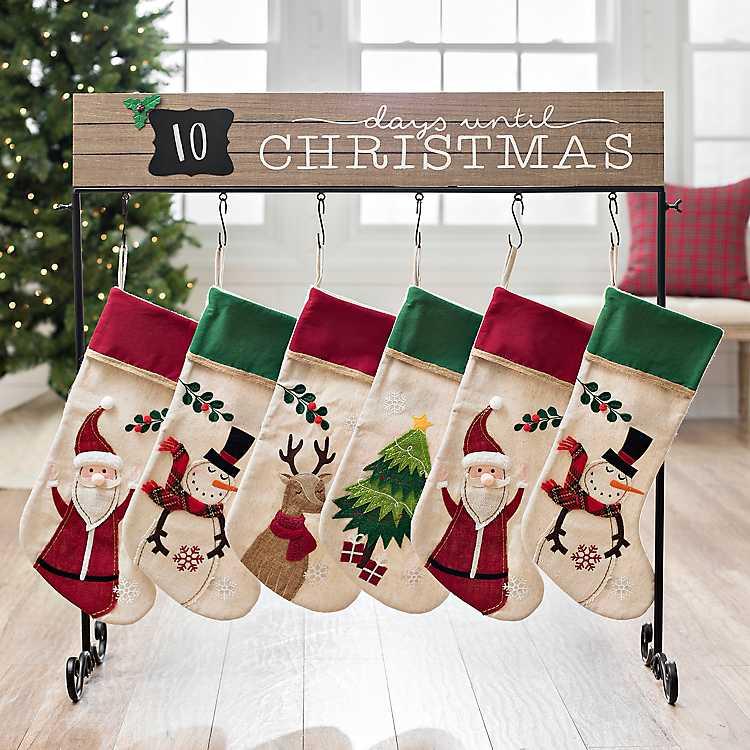 Days Until Christmas Stocking Holder Kirklands