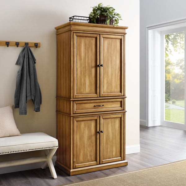 Natural Finish Palmer Storage Cabinet